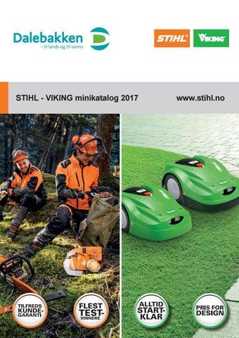 3ac7515b Stihl kampanje 2018 - Tromas by Tromas AS - issuu