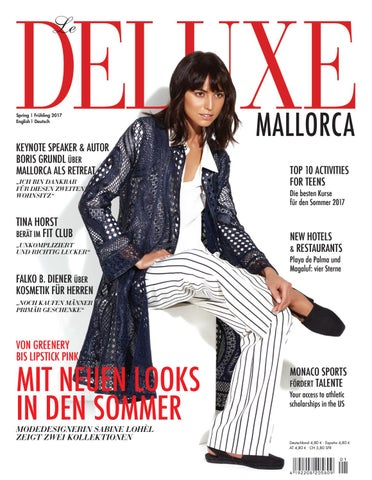 Deluxe Spring 2017 By Mallorca Exklusiv Issuu