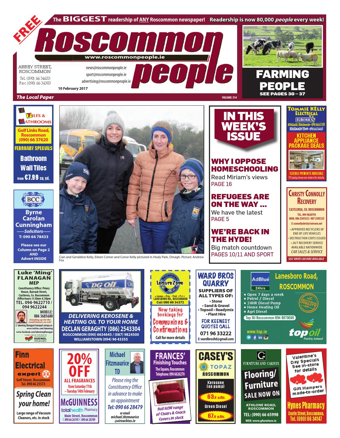 e3f775a813c 2017 02 10 by Roscommon People - issuu