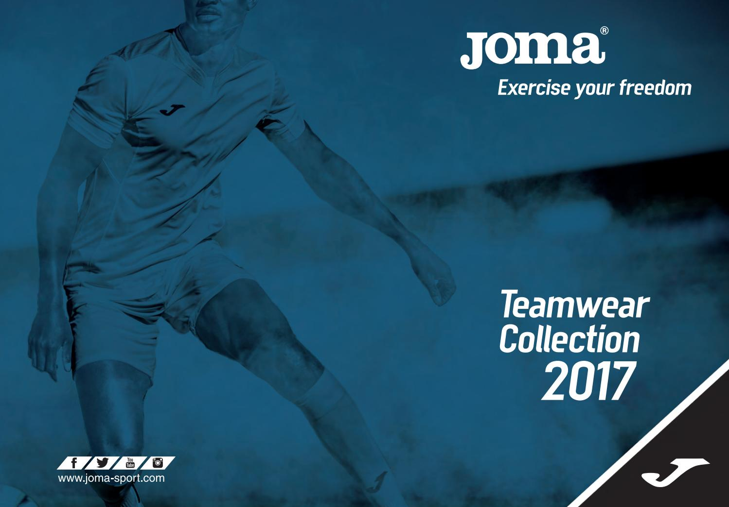 Teamwear 2017 by JOMA SPORT - issuu 71eed69422ba8