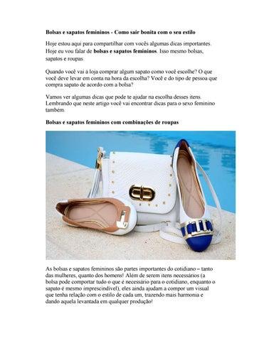 Sapatos by Quattro Projetos - issuu b62c23c99cb
