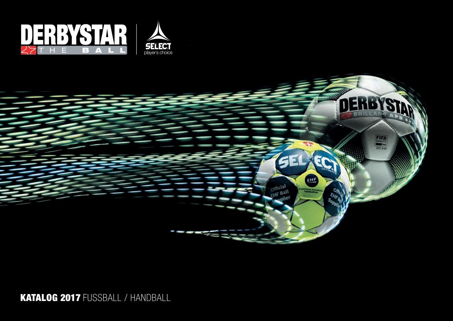Derbystar Brillant APS weiss gelb silber Spielball Herren Matchball FIFA NEU