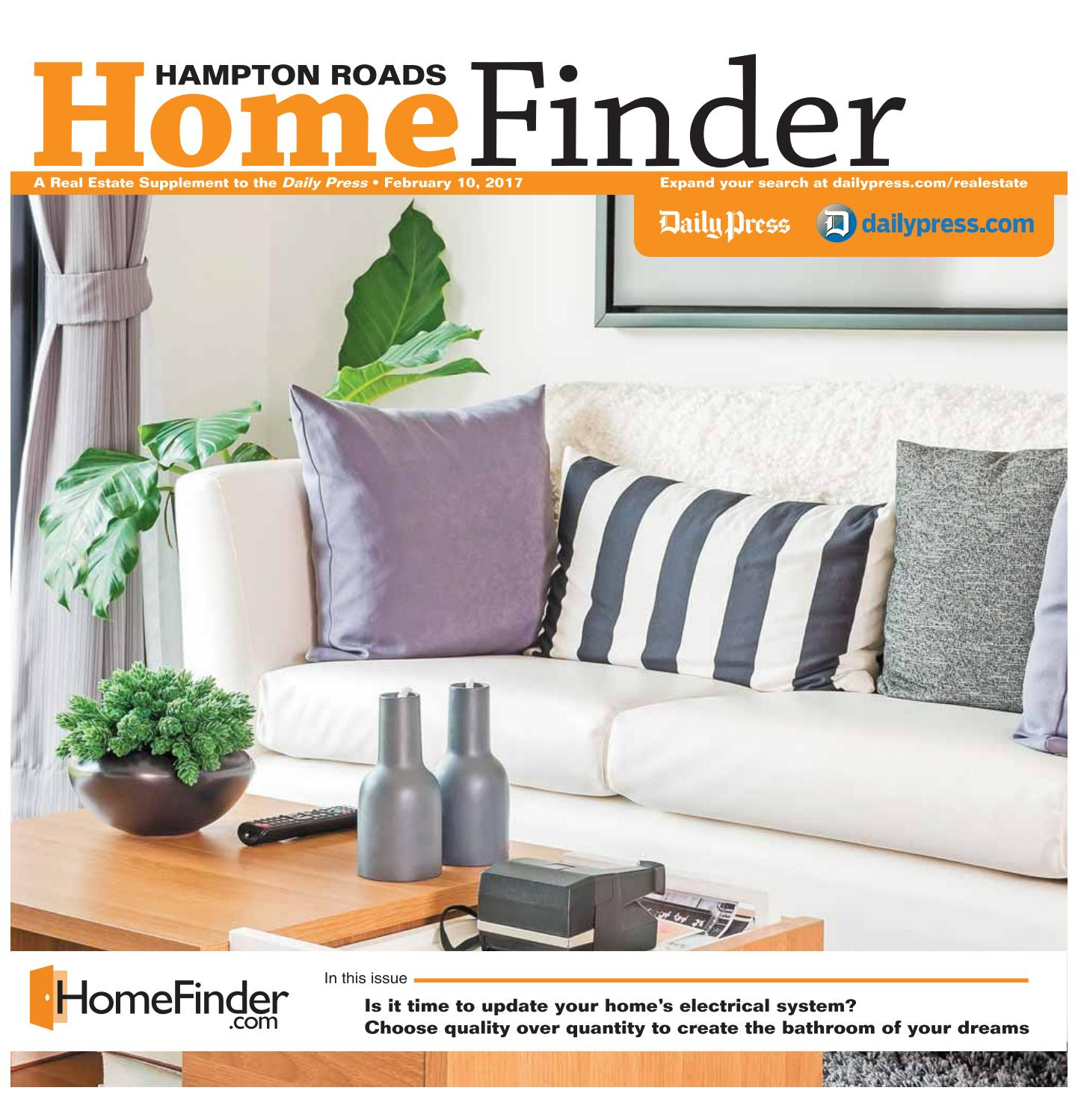 Home Finder For Rent: February 10, 2017 By Daily Press Media Group