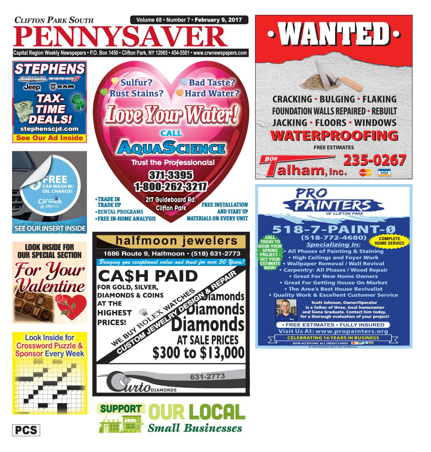Clifton Park South Pennysaver 020917 By Capital Region Weekly Newspapers Issuu