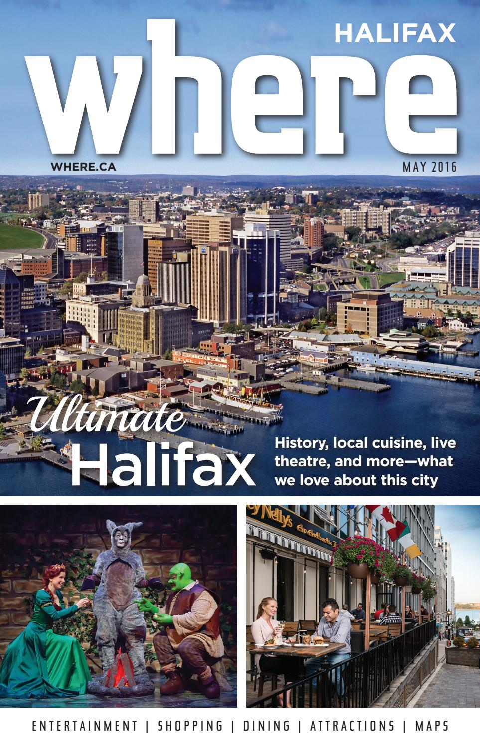 Where Magazine May 2016 By Metro Guide Publishing