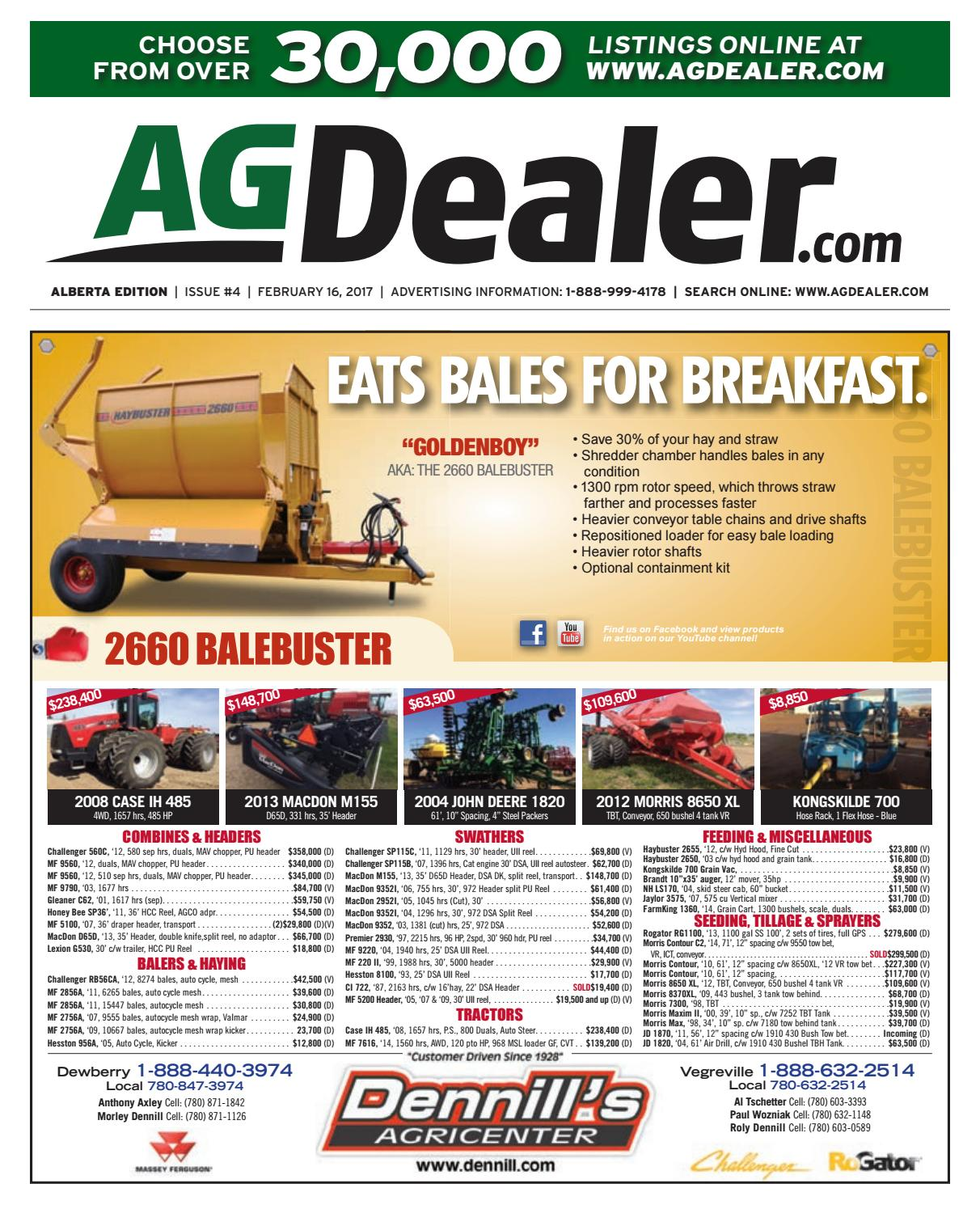 Wheel Amp Deal Alberta February 16 2017 By Farm Business Kvt 819 Wiring Harness 4 Pin Communications Issuu