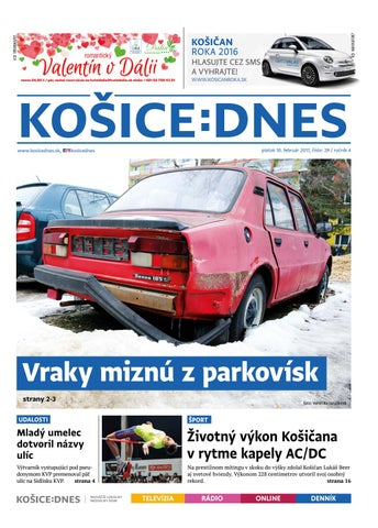 3d859ced3a62 KOŠICE DNES 10.2.2017 by KOŠICE DNES - issuu