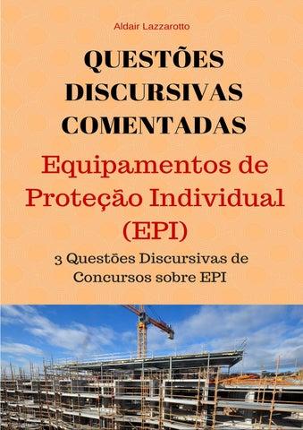 69056a6aaaca8 Questões Discursivas de Segurança do Trabalho by ald laz - issuu