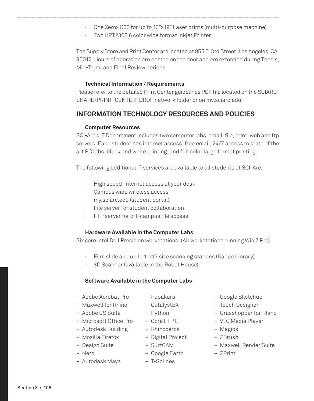 Student Handbook 2016 - 2017