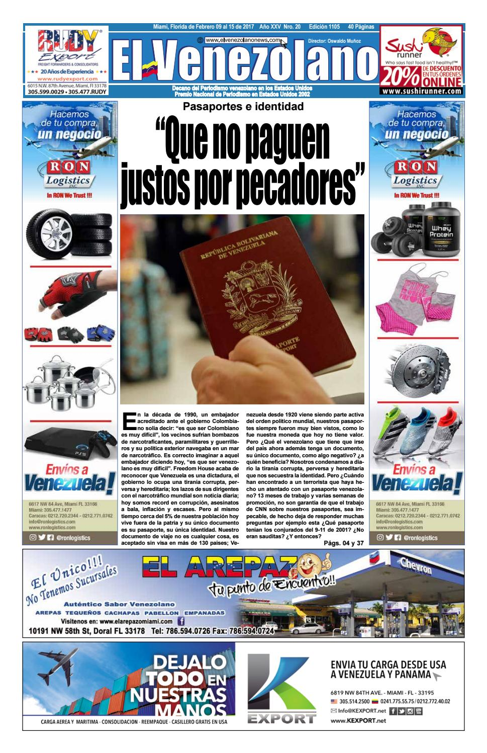 Miami 1105 by Grupo Editorial El Venezolano - issuu