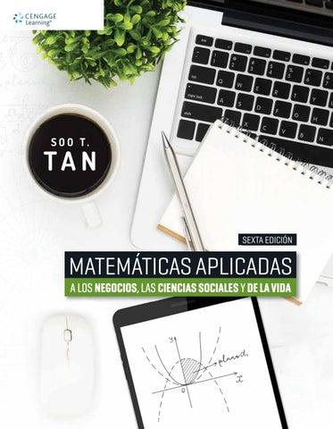 Matemáticas Aplicadas a los Negocios, las Ciencias Sociales y de la ...