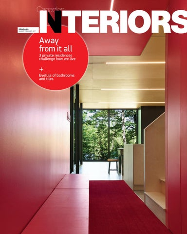 Canadian interiors January February 2017 by IQ Business Media issuu
