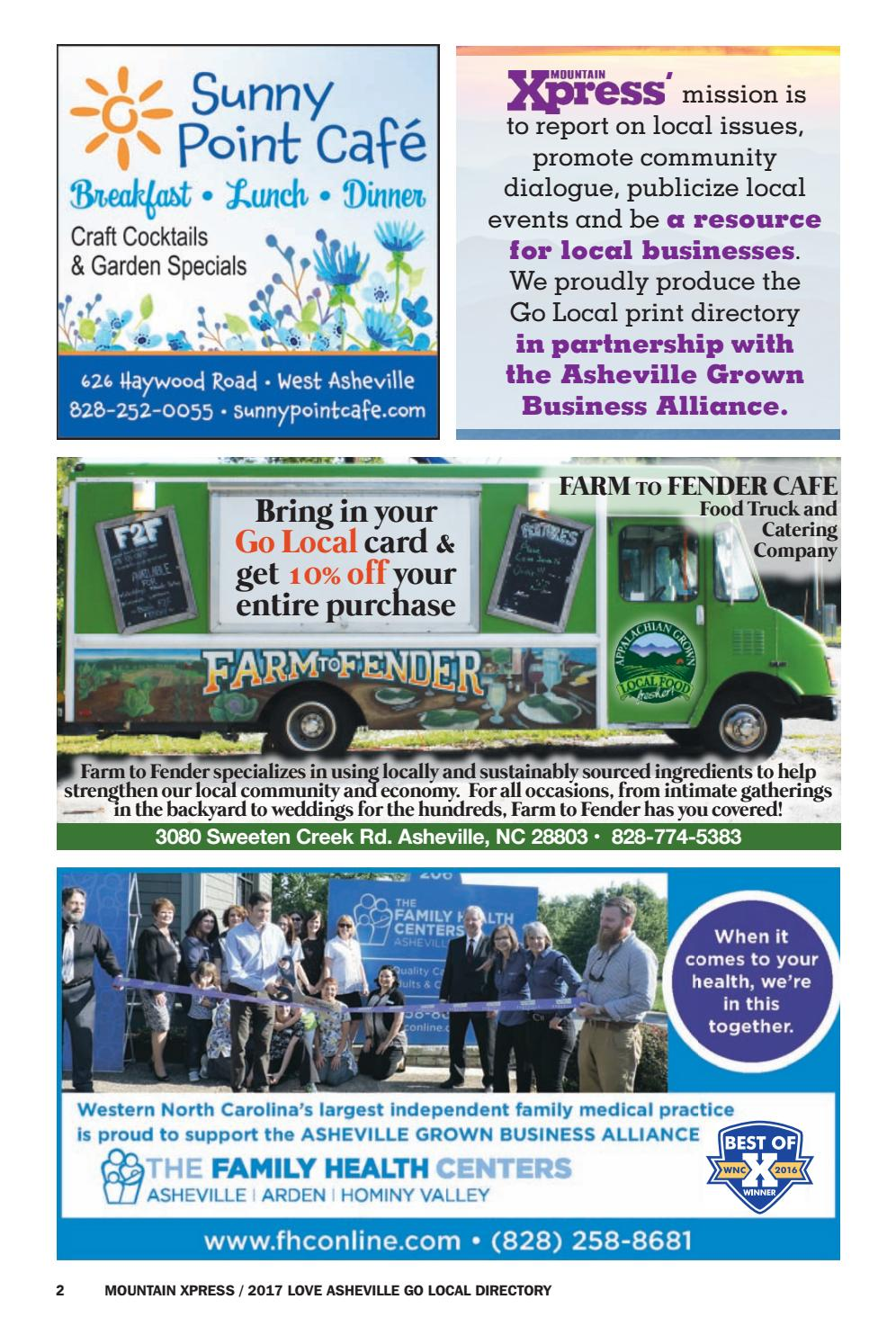 go local directory 2017 by mountain xpress issuu
