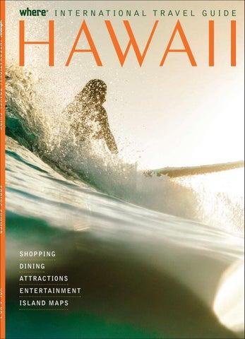 c40eb5428c Hawaiian International Travel Guide Spring-Summer 2017 Korean ...