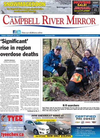 Campbell River Mirror February 10 2017 By Black Press