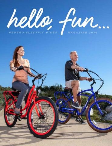 Pedego Electric Bikes Magazine 2016 By Comcomtelecom Issuu
