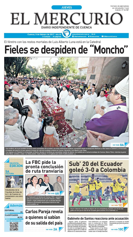 hemeroteca 09-02-2017 by Diario El Mercurio Cuenca - issuu