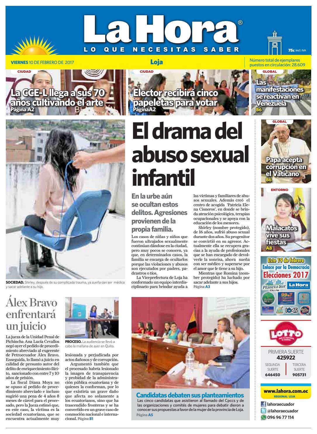 Diario La Hora Loja 10 De Febrero 2017 By Diario La Hora Ecuador  # Muebles Moya Loja