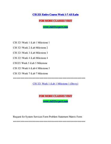 Cis 321 expert a guide to career/cis321expert com by