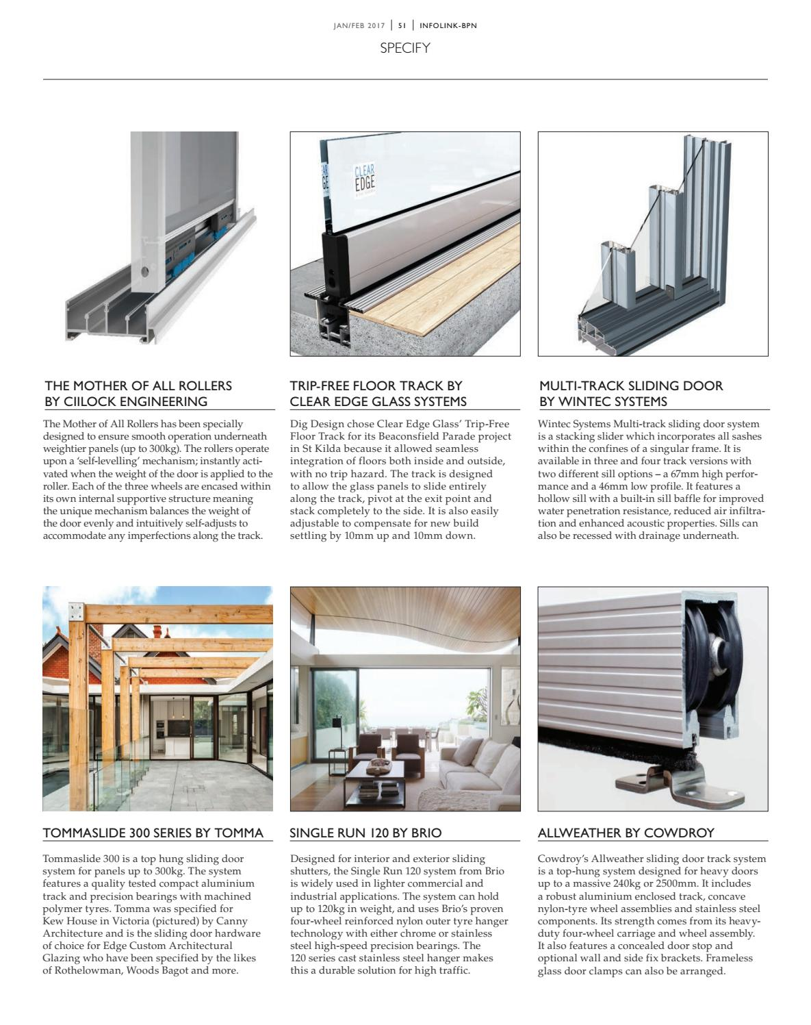 Infolink Building Products News January 2017 By Indesign Media