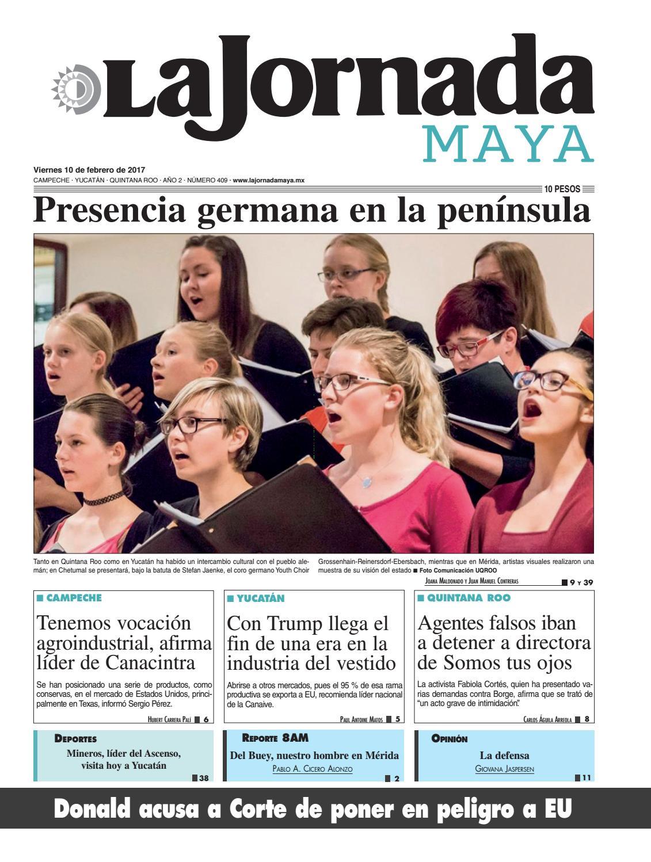 8fbac338a La Jornada Maya · Viernes 10 de febrero