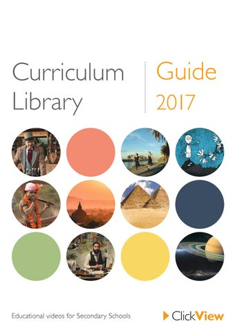 Curriculum Library Guide 2017 - ClickView Australia & New Zealand by