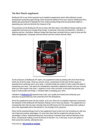 bio muscle xr reviews by cathy bradley issuu