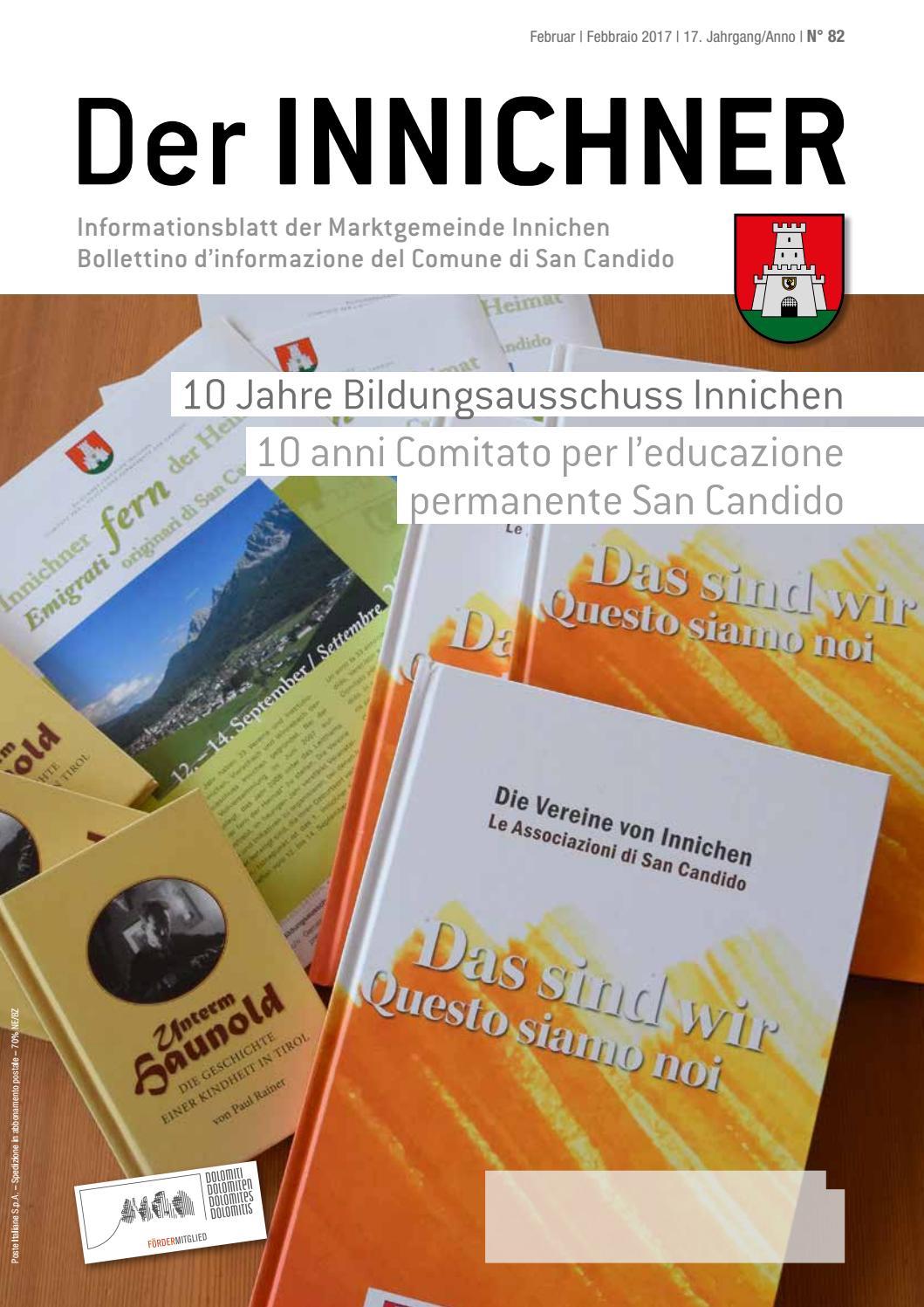 Nr N 82 2017 Der Innichner By Gemeinde Innichen Issuu