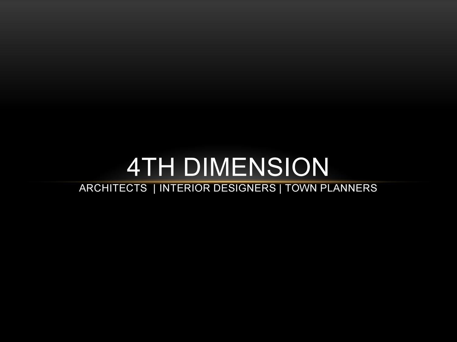 4d Architecture Profile By 4th Dimension Issuu