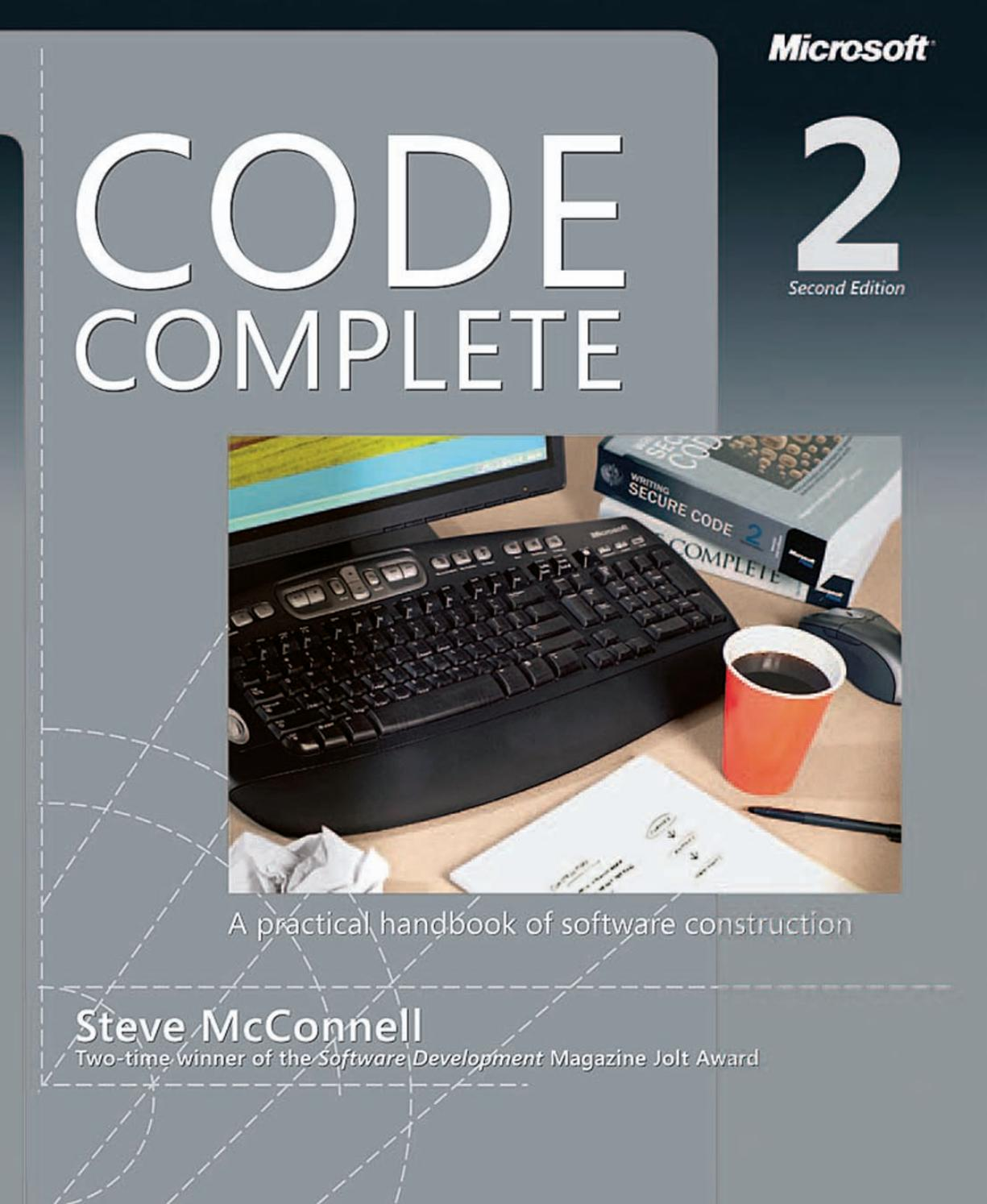 Code complete second edition ebook prt1