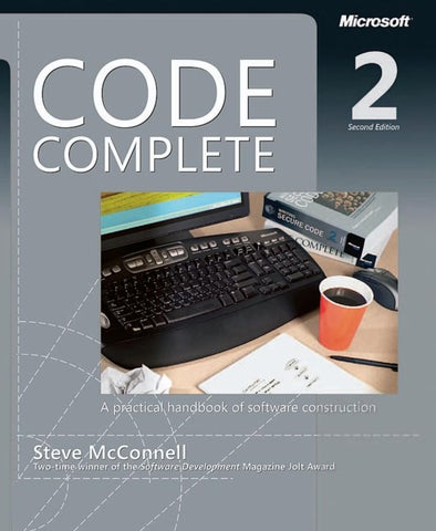 Code complete second edition ebook prt1 by med mes issuu ebook wowebook fandeluxe
