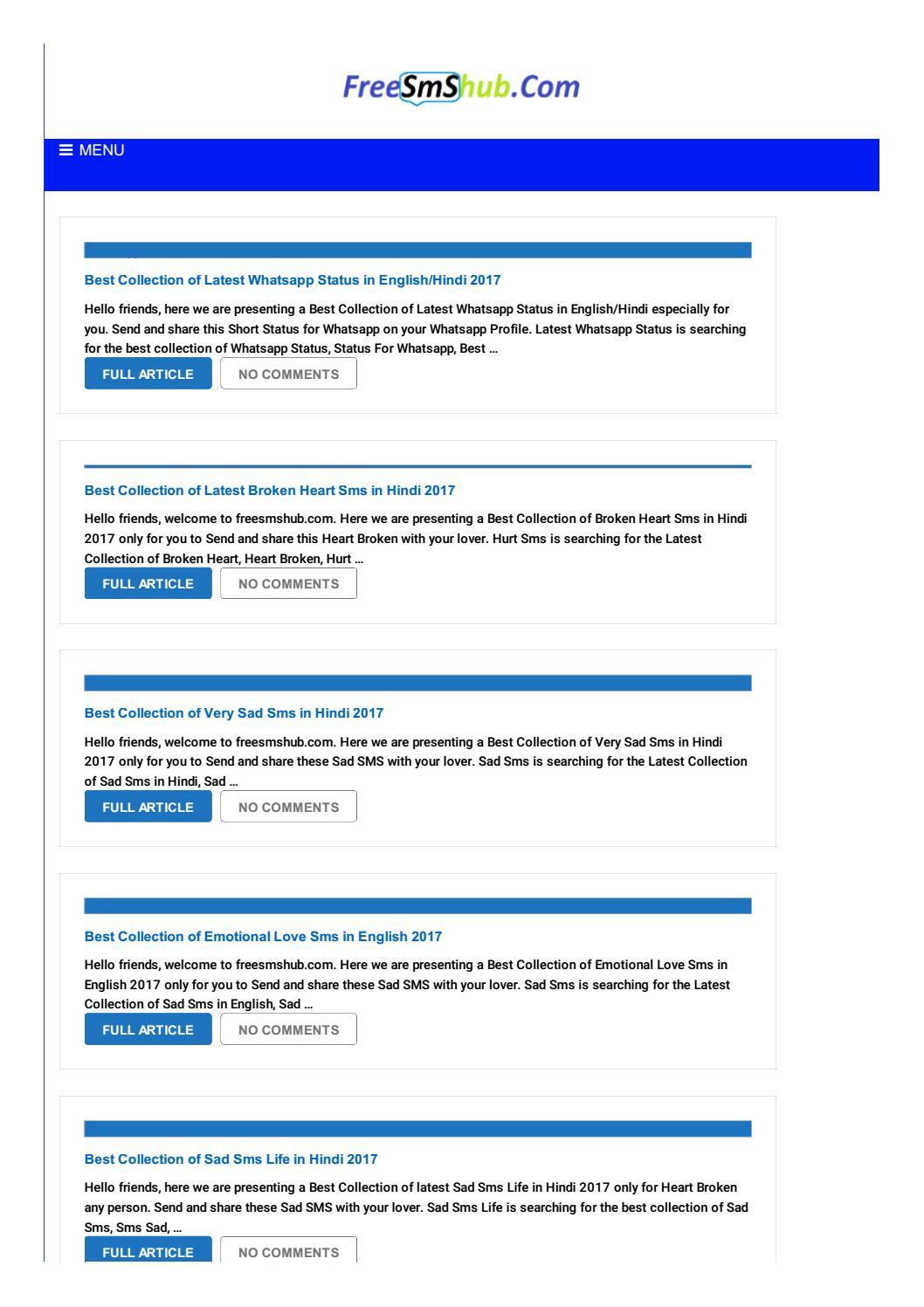 Free Sms Hub by Tanveer Ahmad - issuu