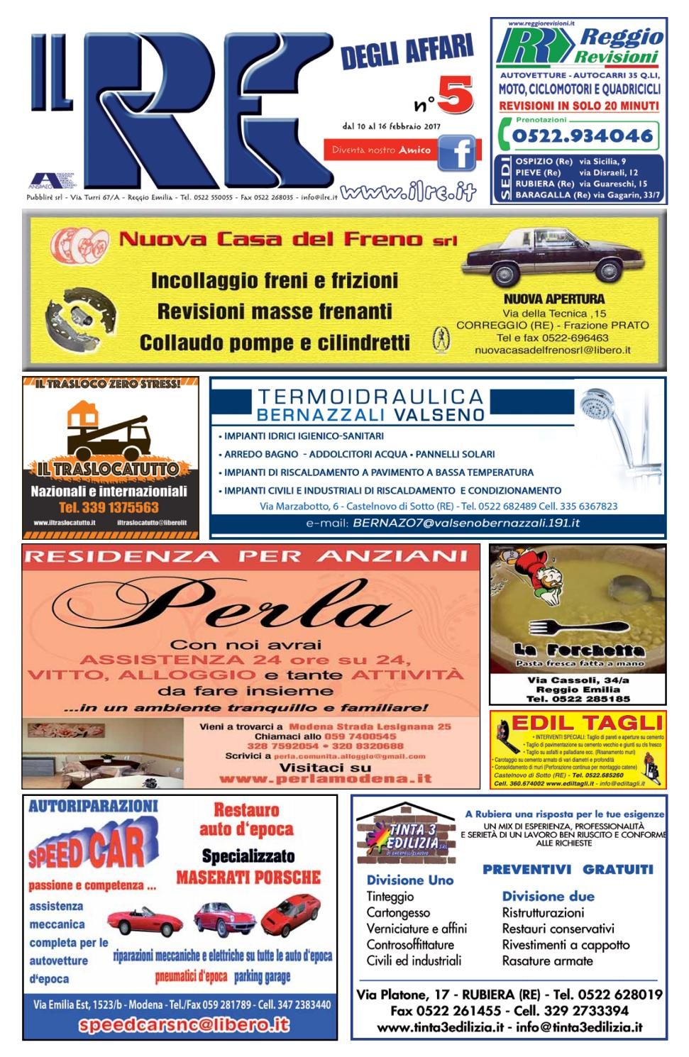 IL RE DEGLI AFFARI NR. 05 2016 by Il Re degli Affari - issuu ece96cd5bc3