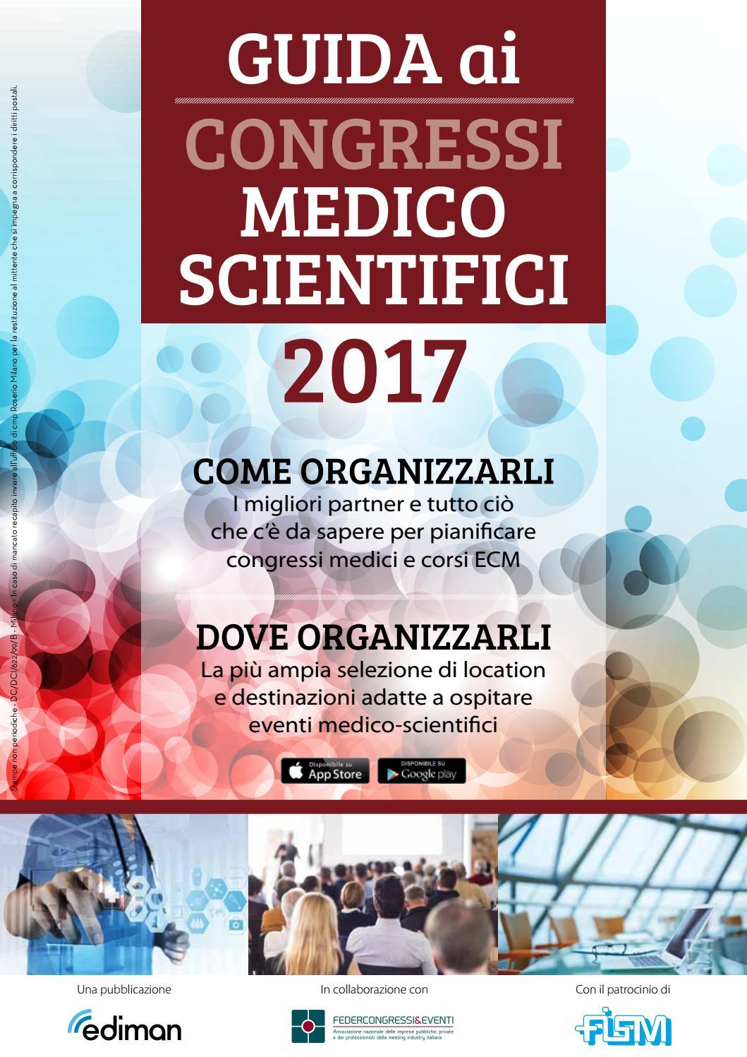 Guida ai Congressi Medico Scientifici 2017 by Ediman - issuu 6bb639b8c8d6