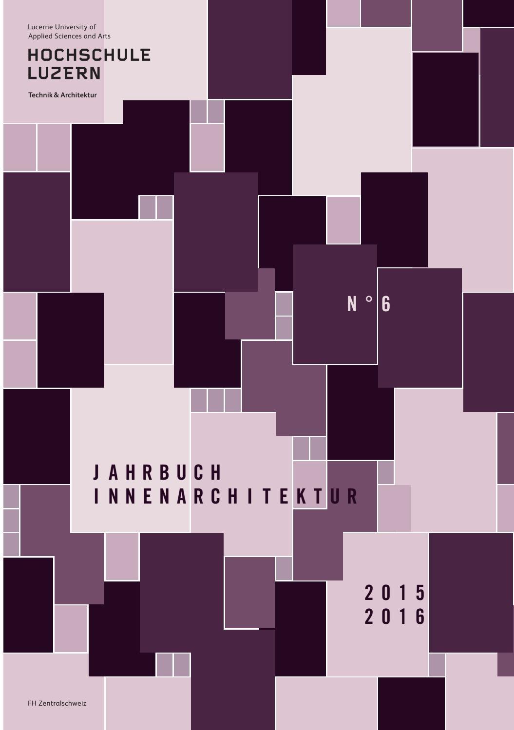 jahrbuch innenarchitektur 2015/2016 by hochschule luzern - issuu - Wirkung Von Farben Menschliche Emotionen Anwendung Im Raum 2