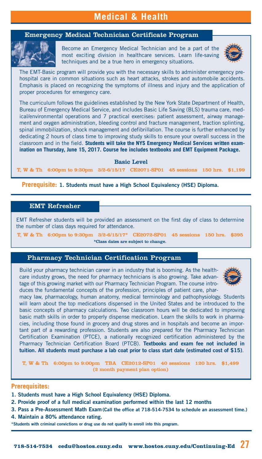 Spring 2017 continuing education catalog by hostos community spring 2017 continuing education catalog by hostos community college issuu 1betcityfo Image collections