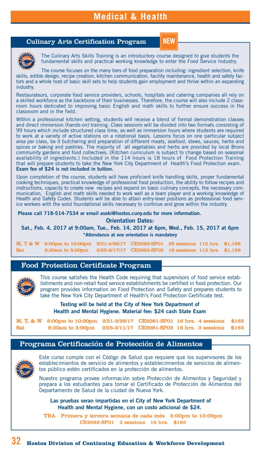 food protection course nyc answers