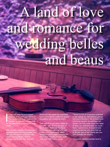 Page 17 of A land of love and romance for wedding belles and beaus