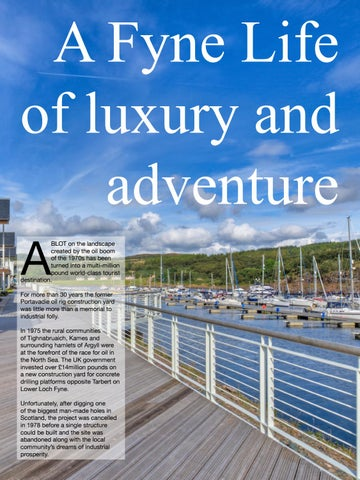 Page 37 of A Fyne Life of luxury and adventure