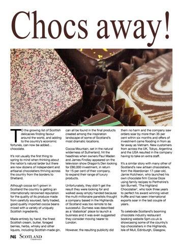 Page 46 of Chocs away!