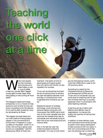 Page 73 of Teaching the world one click at a time