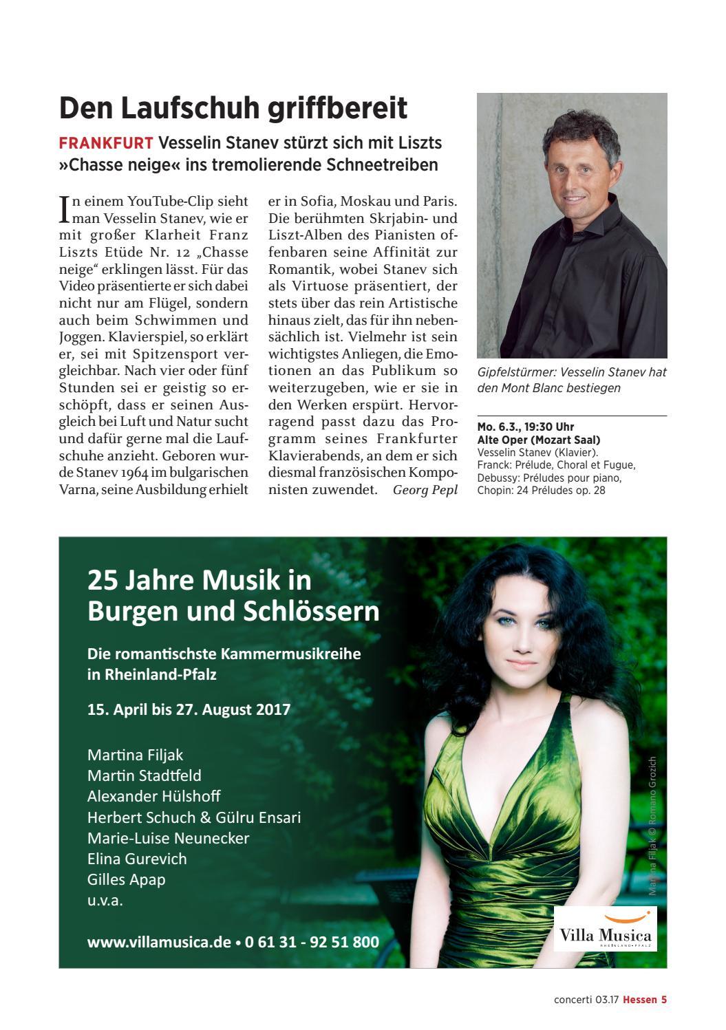 concerti Ausgabe Hessen März 2017 by concerti - Das Konzert