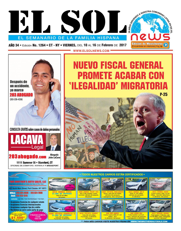 El sol news 1264 by EL SOL News - issuu