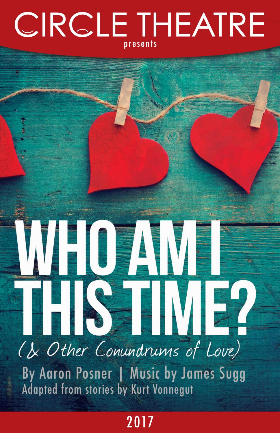 Circle Theatre's Program for Who Am I This Time? (& Other