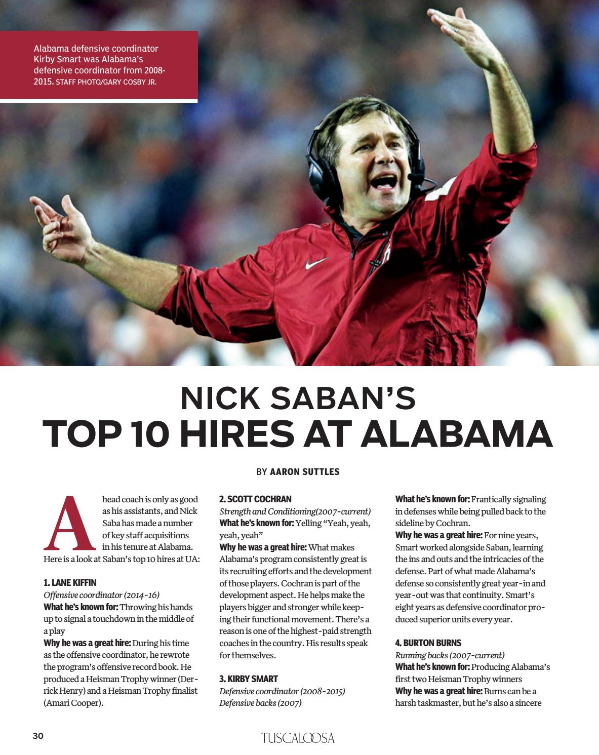 Tuscaloosa Magazine Special Issue 2017 by Tuscaloosa News