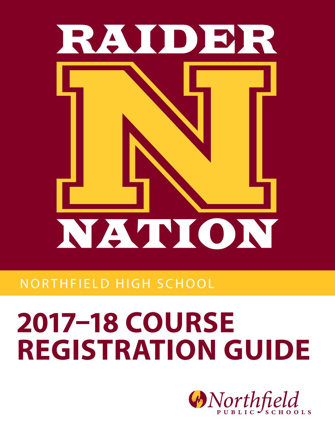 Northfield High School Course Registration Guide 2017-18 by ...