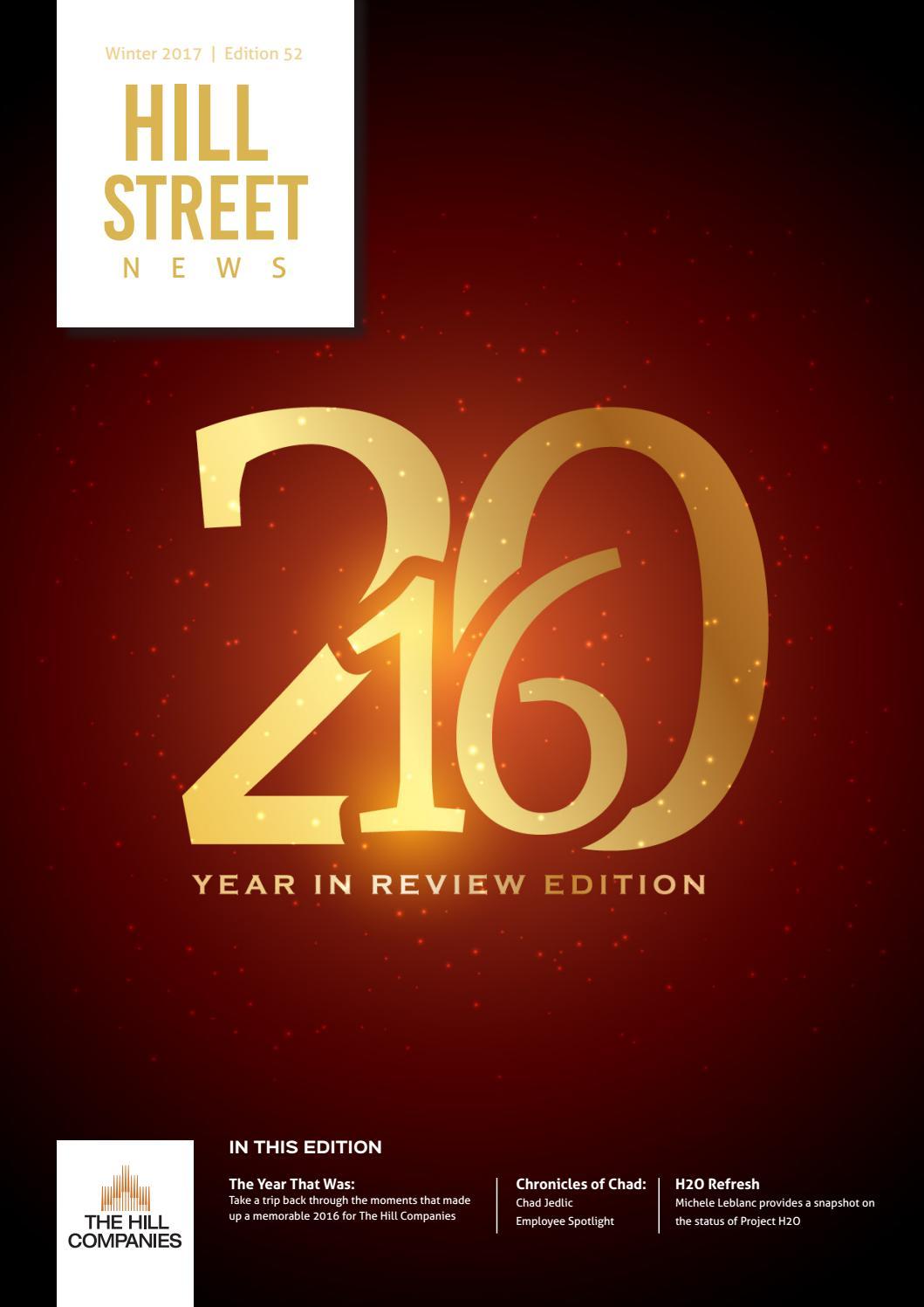 Hill Street News - Edition 52 by Matt Geiger - issuu