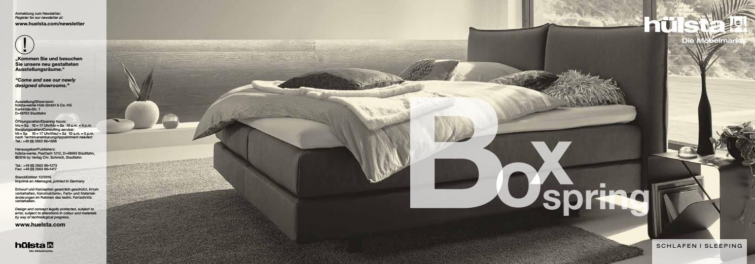 hulsta sypialnia boxpring by domatoria issuu. Black Bedroom Furniture Sets. Home Design Ideas