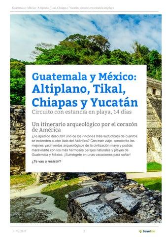 Guatemala y México  Altiplano 317a722c94e