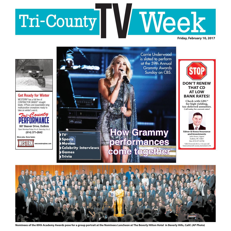 1957cfe42bc CE TV 02-10-17 by Tri-County TV Week - issuu